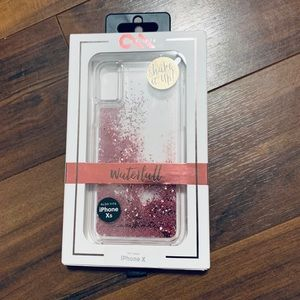 Case Mate Waterfall Rose Gold iPhone X Case